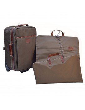 LONGCHAMP SUITCASE & GARMENT BAG