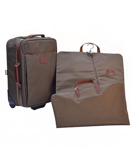 LONGCHAMP SUITCASE + GARMENT BAG
